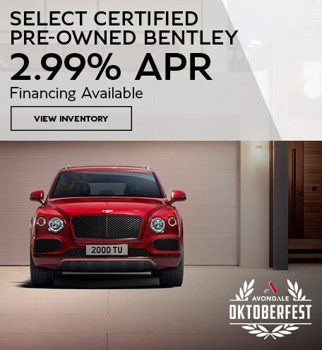 Certified Bentley 2.99% APR