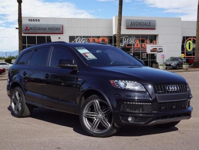 Used 2015 Audi Q7 3.0T S line Prestige (Tiptronic) SUV For Sale in Avondale, AZ