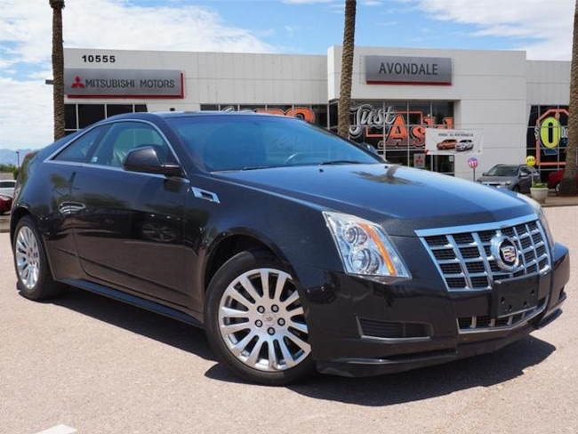 Used 2013 CADILLAC CTS RWD Coupe For Sale in Avondale, AZ