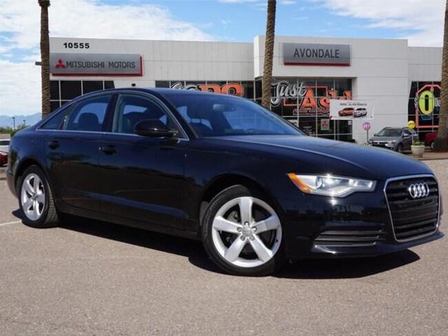Used 2012 Audi A6 2.0T Premium Plus (Multitronic) Sedan For Sale in Avondale, AZ