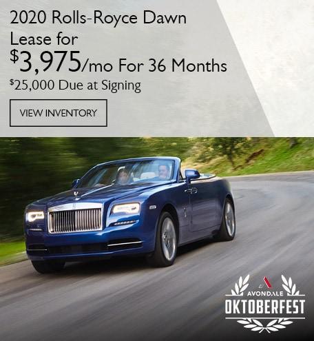 Rolls-Royce Dawn Lease