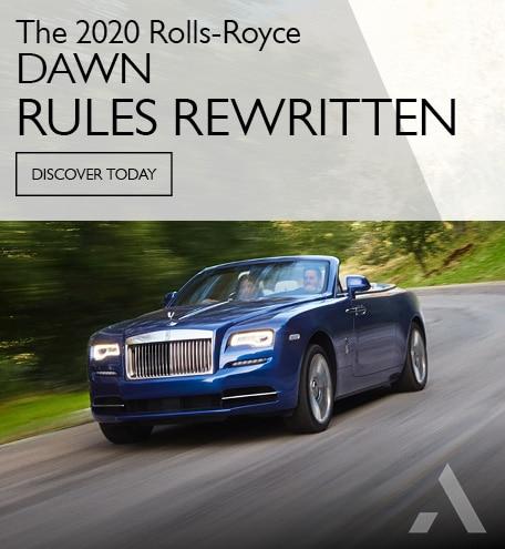 Rolls Royce Dawn - Rules Rewritten