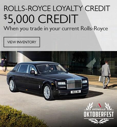 Rolls Royce Loyalty Credit