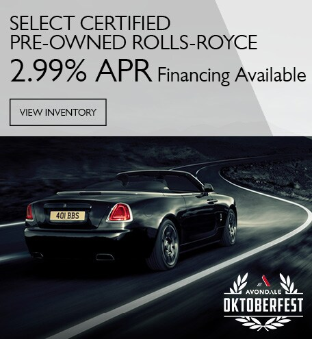 Certified Rolls-Royce 2.99% APR
