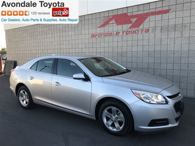 Used 2016 Chevrolet Malibu Limited LT Sedan in Avondale, AZ