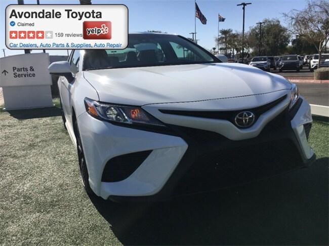New 2018 Toyota Camry SE Sedan in Avondale, AZ