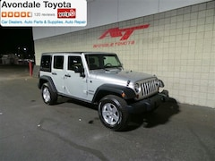 Used 2012 Jeep Wrangler Unlimited Sport SUV in Avondale