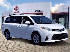 New 2020 Toyota Sienna LE 8 Passenger Van in Avondale, AZ