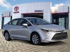 New 2020 Toyota Corolla LE Sedan in Avondale, AZ