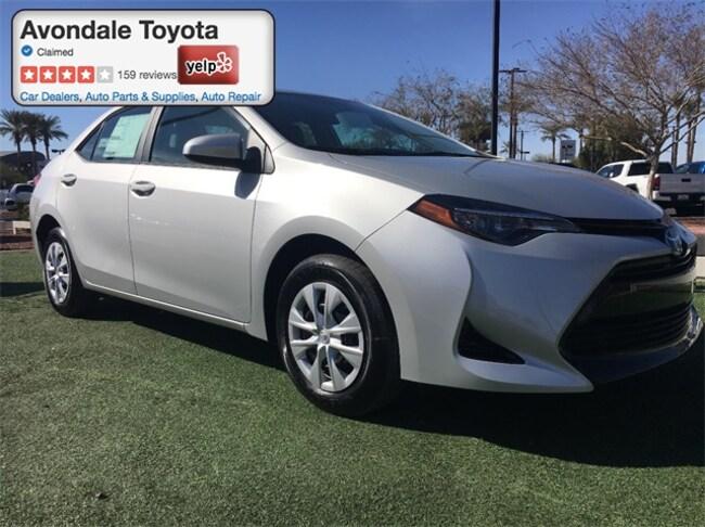 New 2018 Toyota Corolla L Sedan in Avondale, AZ
