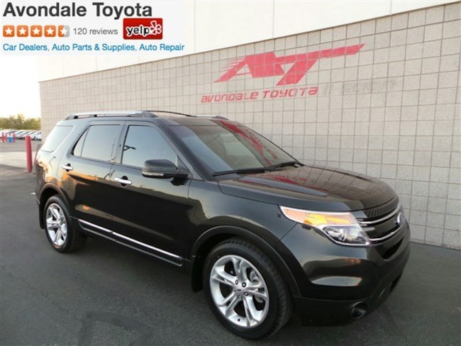 Used 2012 Ford Explorer Limited SUV in Avondale, AZ