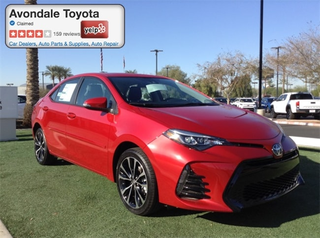 New 2018 Toyota Corolla SE Sedan in Avondale, AZ