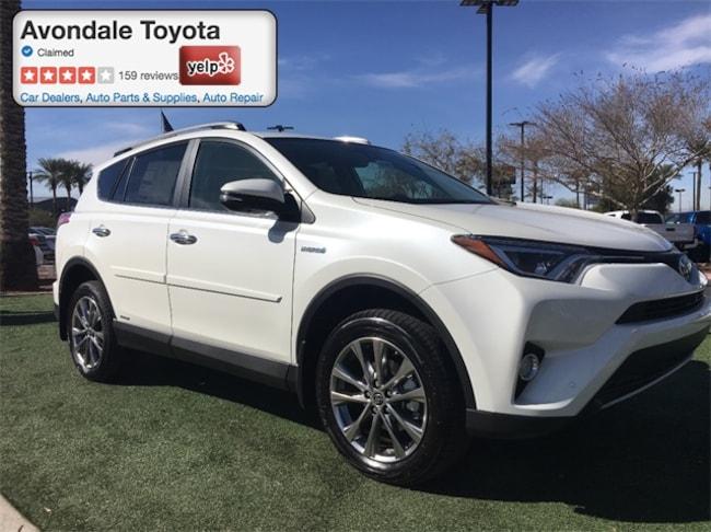 New 2018 Toyota RAV4 Hybrid Limited SUV in Avondale, AZ