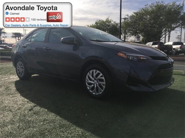 New 2018 Toyota Corolla LE Sedan in Avondale, AZ