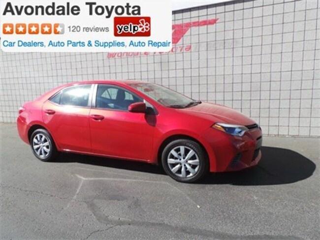 Used 2016 Toyota Corolla LE Sedan in Avondale, AZ