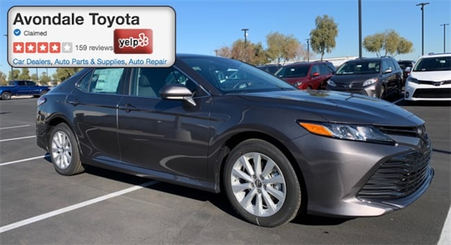 New 2019 Toyota Camry LE Sedan in Avondale, AZ