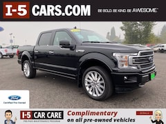 Used 2019 Ford F-150 Limited Truck SuperCrew Cab 1FTEW1EG4KFC50843 in Chehalis, WA