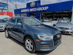 2016 Audi Q3 2.0T Progressiv|AWD|Parking Sensors|Pano Sunroof SUV