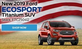 New 2019 Ford EcoSport Titanium SUV