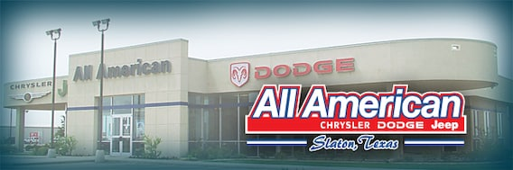 dodge dealership lubbock About All American  New Chrysler, Jeep, RAM and Dodge and Used