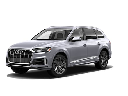 Featured new 2021 Audi Q7 45 Premium SUV for sale near Smithtown, NY