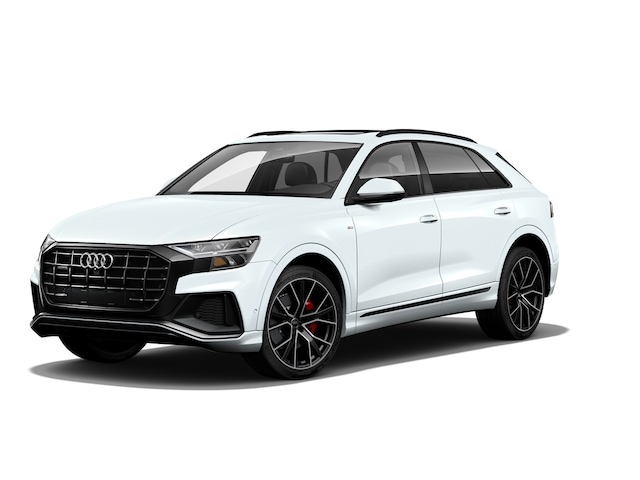 New 2021 Audi Q8 55 Premium Plus SUV in East Hartford