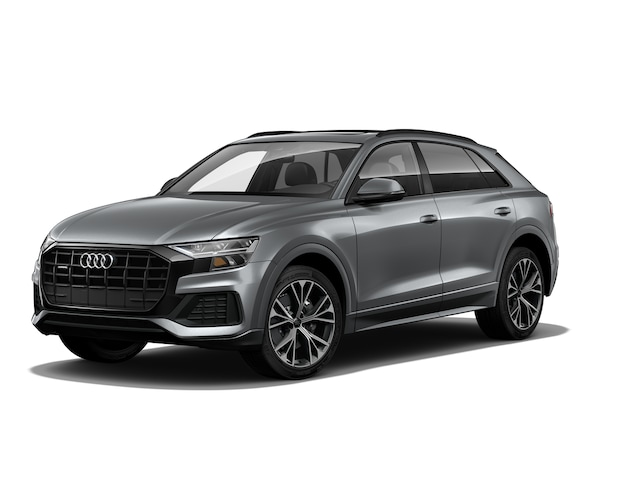 New 2020 Audi Q8 55 Premium SUV WA1AVAF11LD010328 in Huntington, NY