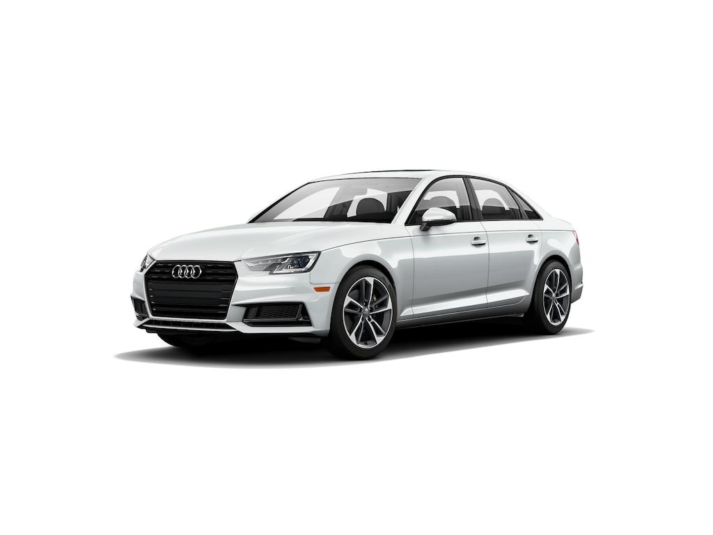 New 2019 Audi A4 Sedan 2 0t Premium Glacier White