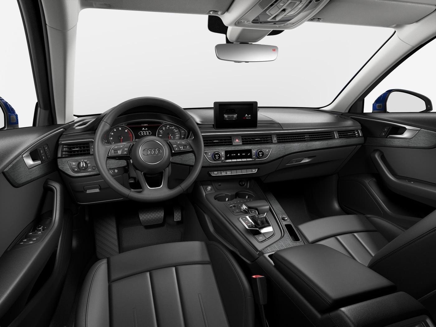 New 2019 Audi A4 Sedan 2 0T Premium Navarra blue metallic