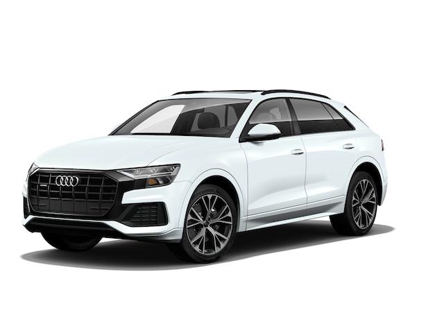 New 2020 Audi Q8 55 Premium SUV WA1AVAF10LD019523 in Huntington, NY