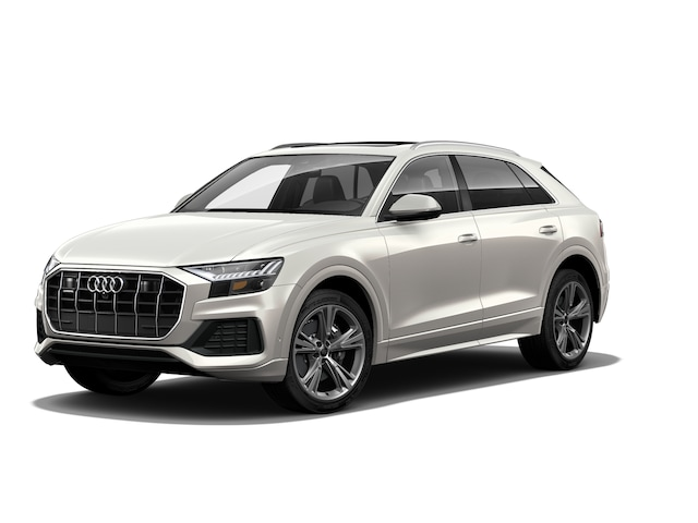 New 2020 Audi Q8 55 Premium Plus SUV in Westwood, MA