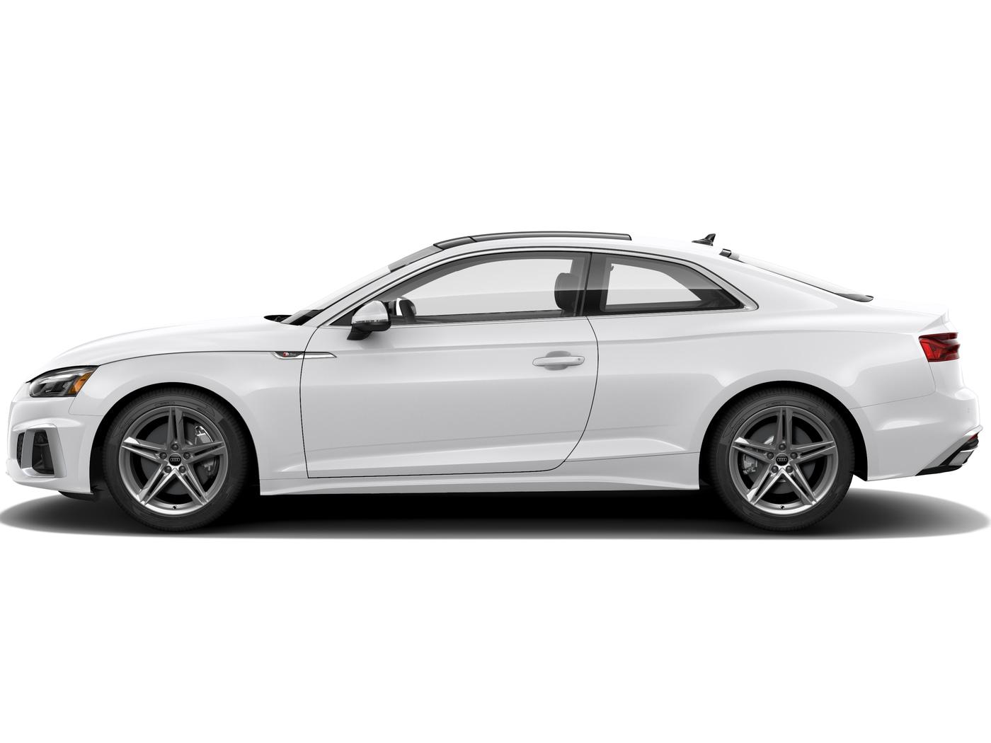 New 2021 Audi A5 Coupe 45 Premium Ibis White For Sale In Calabasas Ca Stock Ac03908