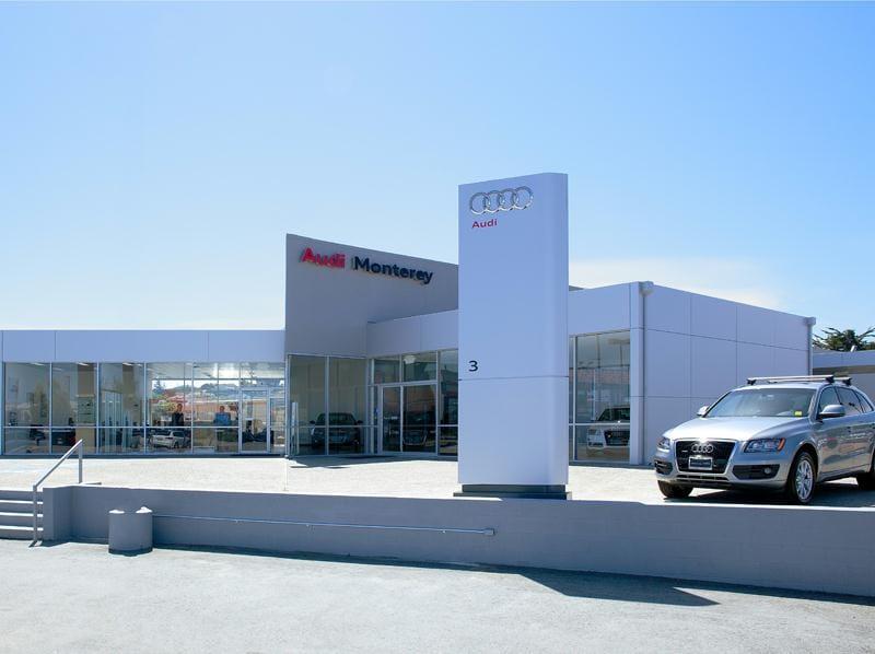 Audi Monterey Peninsula Audi Dealer Near Santa Cruz