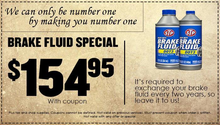 Brake Fluid Special