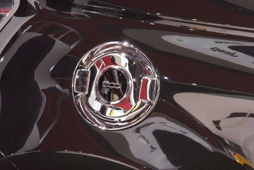 Mopar FIAT 500 Chrome Fuel Door
