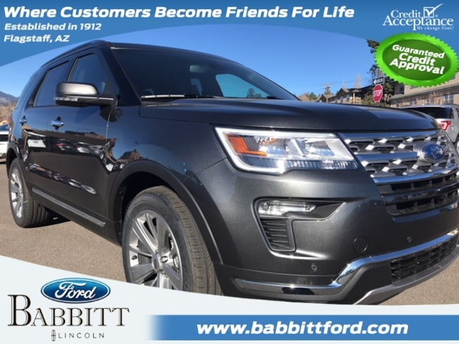 New 2018 Ford Explorer Limited SUV in Flagstaff
