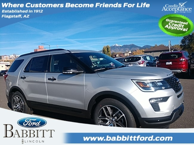 New 2019 Ford Explorer Sport SUV in Flagstaff