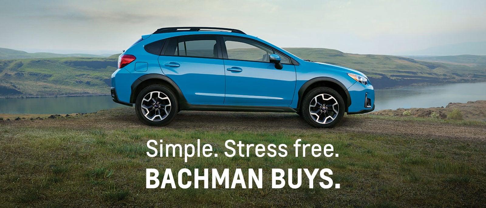 Sell Your Used Car in Louisville, Kentucky | Bachman Subaru Buys ...
