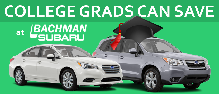 college grad discount on a new or used subaru bachman subaru of louisville ky serves. Black Bedroom Furniture Sets. Home Design Ideas