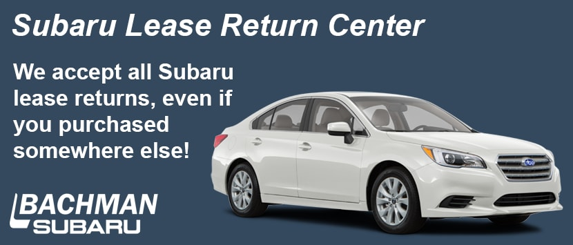 Car Dealerships Louisville Ky >> End Your Car Lease At Bachman Subaru Louisville Ky Car Dealer