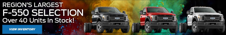 Regions Largest F-550 Selection