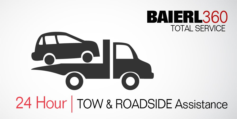 Baierl 360 Total service 24 hour tow & roadside assistance