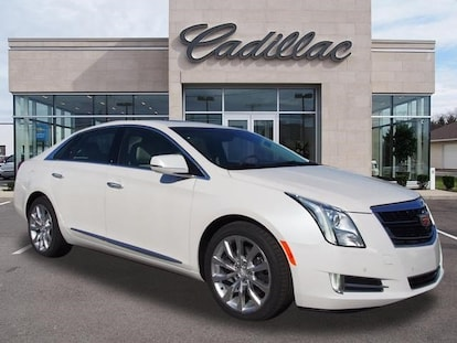 New 2017 Cadillac Xts Sedan Luxury Crystal White Tricoat For Sale Medford Or Lithia Motors Stock C67097