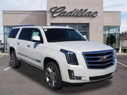 New 2017 Cadillac Escalade Esv Suv Premium Luxury Crystal White Tricoat For Sale Medford Or Lithia Motors Stock C67284