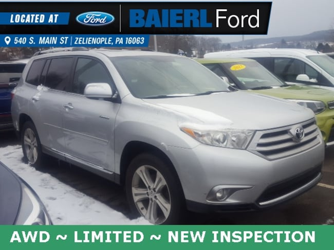 Used 2011 Toyota Highlander Limited SUV For Sale in Zelienople, PA
