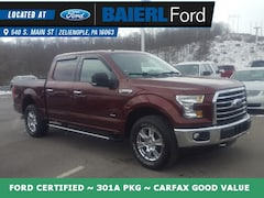 Used  2016 Ford F-150 XLT Truck For sale in Zelienople PA
