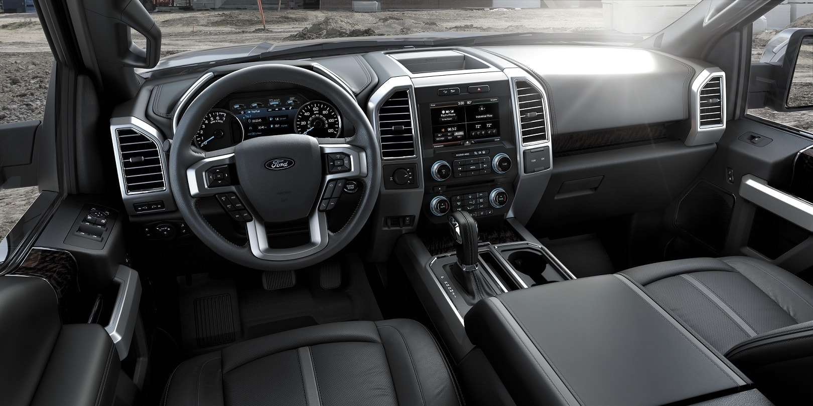 Ford F-150 Interior and Exterior Vehicle Specs and Features
