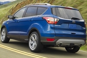 2018 Ford Escape in Lightning Blue