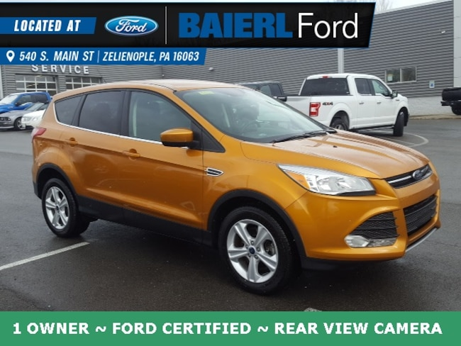 Certified Pre-Owned 2016 Ford Escape SE SUV For Sale in Zelienople, PA