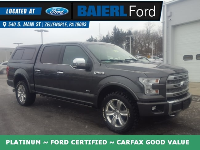 Certified Pre-Owned 2016 Ford F-150 Platinum Truck For Sale in Zelienople, PA